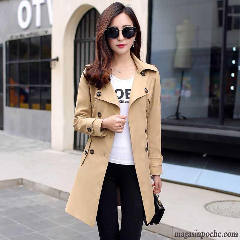 Manteau beige automne