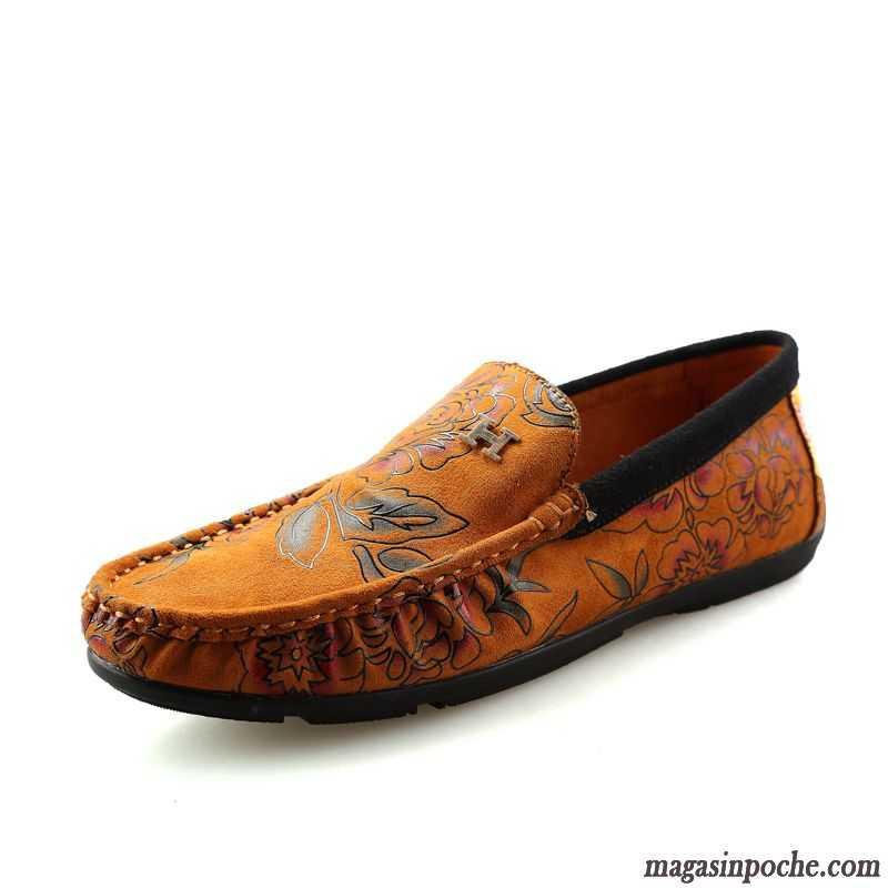 mocassin a talon pas cher paresseux crocodile chaussures en cuir respirant tendance homme casual. Black Bedroom Furniture Sets. Home Design Ideas