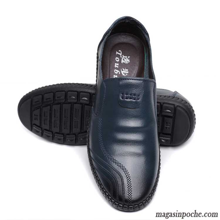 Mocassin Homme Paris Casual Slip-on Rubine