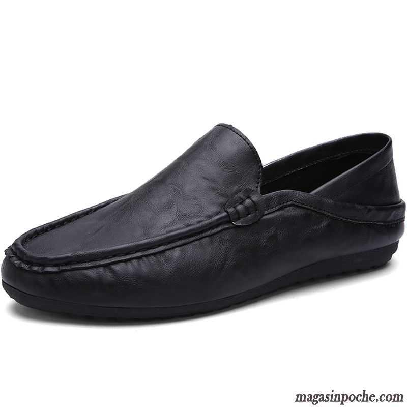 mocassin leopard homme tendance respirant chaussures de conduite homme chaussures en cuir casual. Black Bedroom Furniture Sets. Home Design Ideas