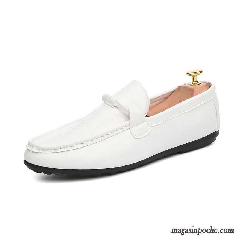 Mocassin En L'automne Angleterre De Homme Jeunesse Semelle Jaune Chaussures Doux Paresseux Casual Tendance Vert Conduite Cuir fgv6byY7