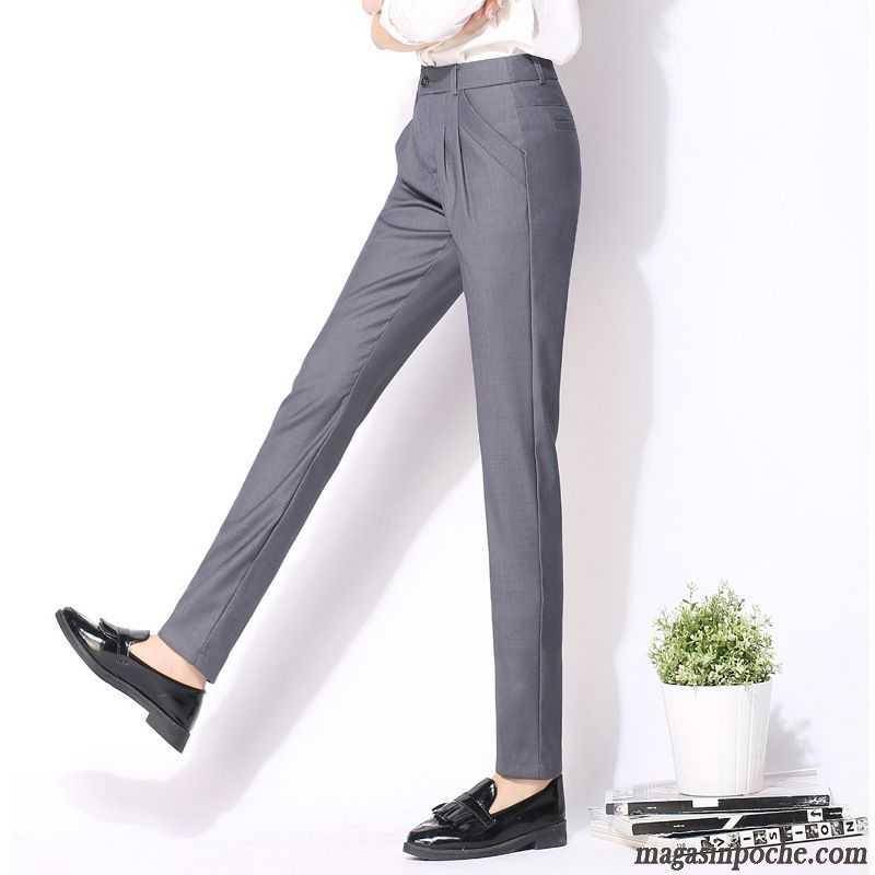 160f1ce885723 Pantalon En Toile Femme L'automne Et L'hiver Mode Bien Pantalons  Décontractés Slim Femme Harlan Pérou