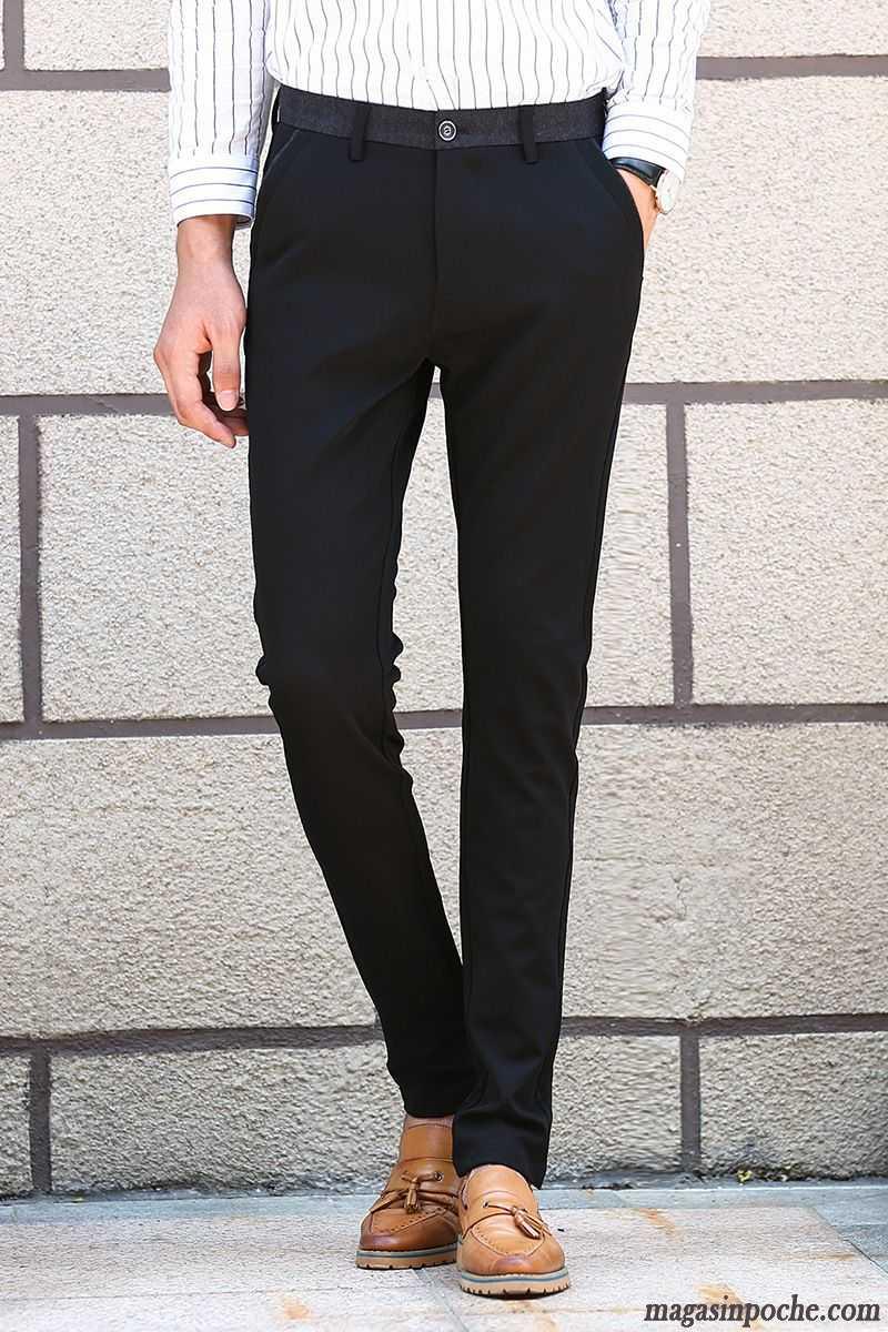 pantalon cigarette homme homme pantalon jeans extensible jeunesse de travail l 39 automne et l. Black Bedroom Furniture Sets. Home Design Ideas