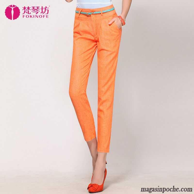 Slim L Pantalons Femme Pantalon Maigre Taillissime Décontractés PqaaTw