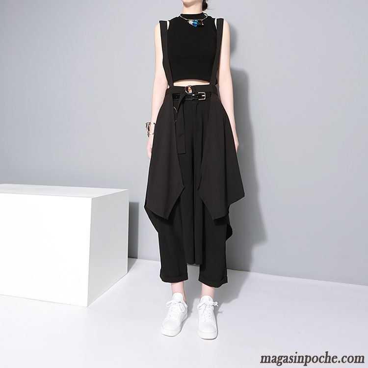 pantalon jupe pour femme bretelle femme personnalit t. Black Bedroom Furniture Sets. Home Design Ideas
