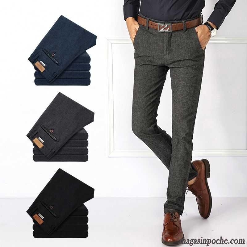 Mode Bretelle Slim Taillissime Travail Homme Pantalon De ZTd5q1w
