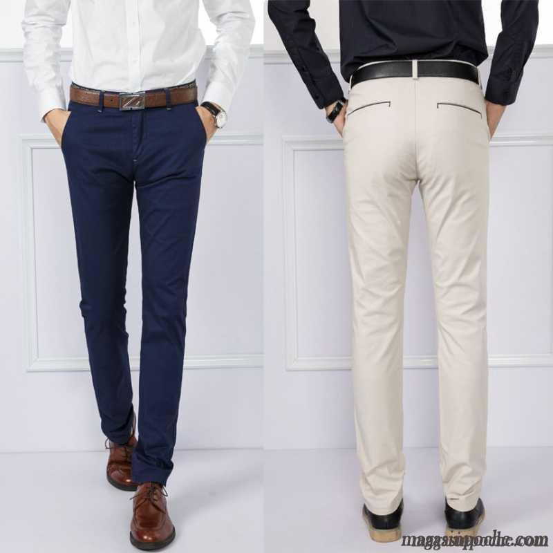 pantalon de toile homme extensible l 39 automne et l 39 hiver. Black Bedroom Furniture Sets. Home Design Ideas