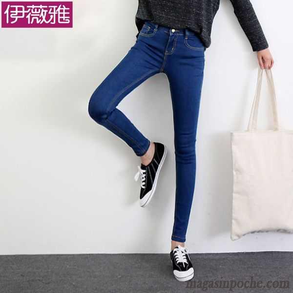 Slim Pantalon Noir Crayon Cher Pantalons Femme Pas Printemps 4dZRqd