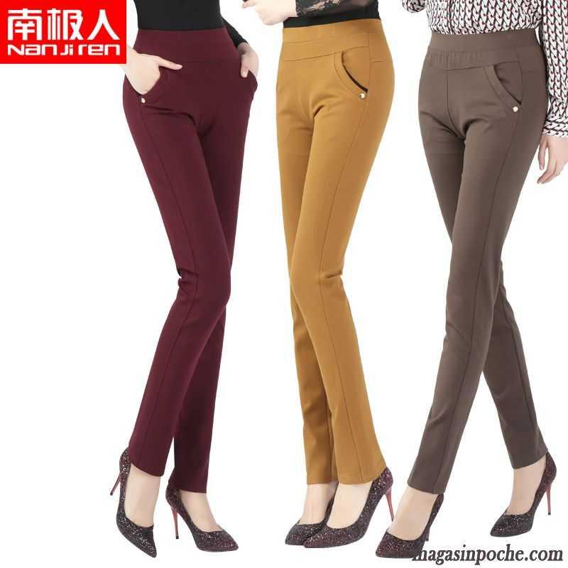 Pantalon Tailleur Taille Haute Mode Pantalon