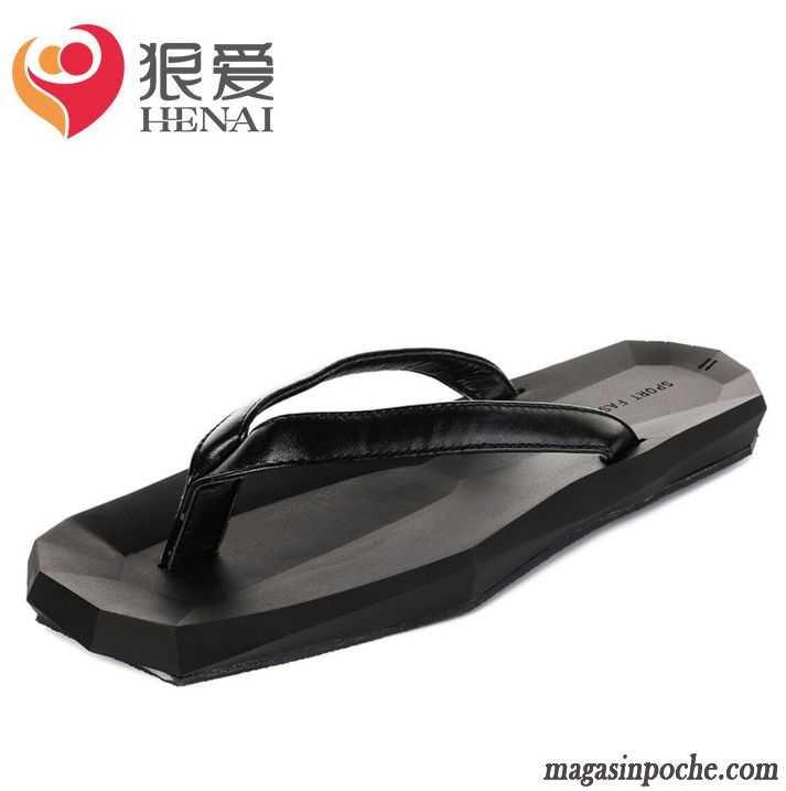 pantoufles originales homme plage sandales semelle paisse lovers antid rapant homme t casual. Black Bedroom Furniture Sets. Home Design Ideas