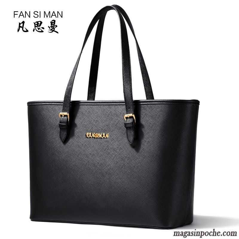 sac noir femme