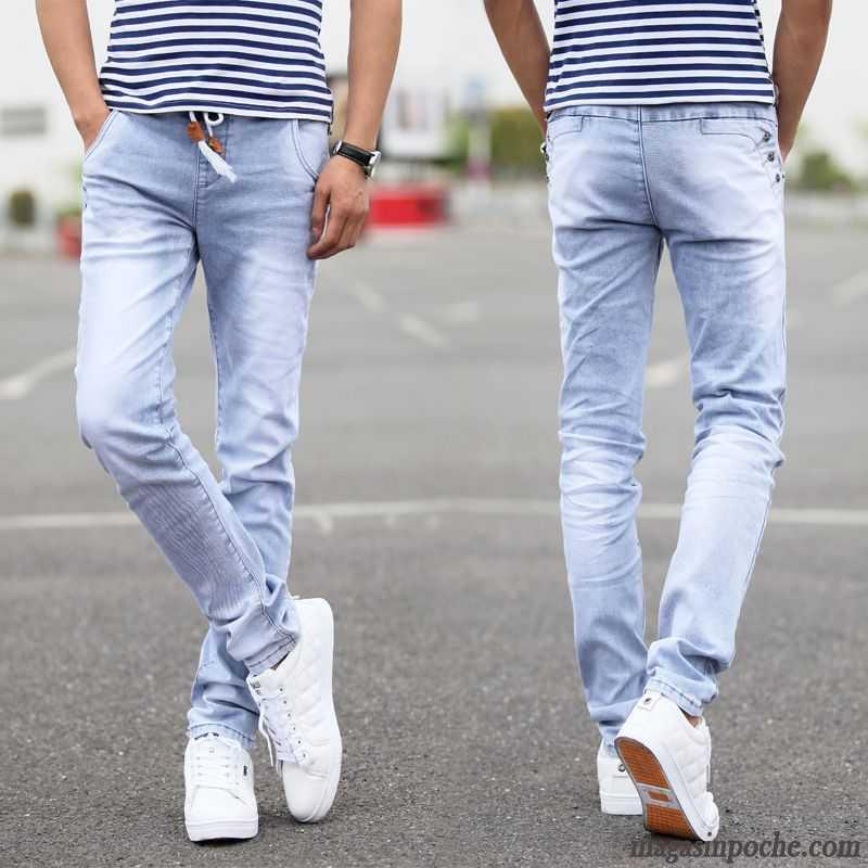 jeans homme slim pas cher pantalon jeans homme slim extensible jambe droite jeunesse l 39 automne. Black Bedroom Furniture Sets. Home Design Ideas