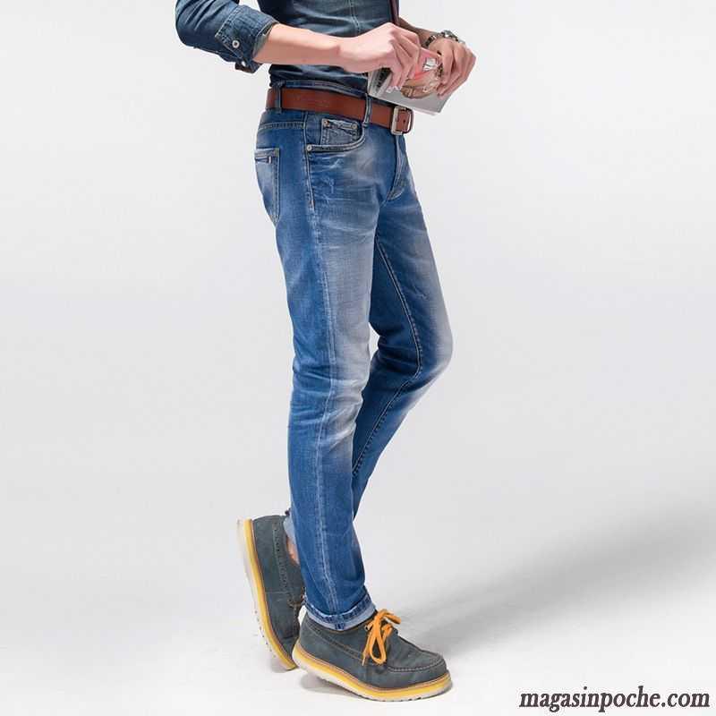 soldes jeans homme pantalon coton bio marque slim jeans jambe droite homme extensible brun. Black Bedroom Furniture Sets. Home Design Ideas