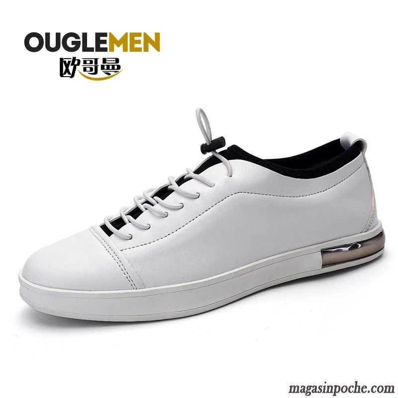 Soldes Mocassins Homme Casual Chaussures En Cuir Homme Blanc Respirant Été  Élève Bleu Ciel 3912665120e7