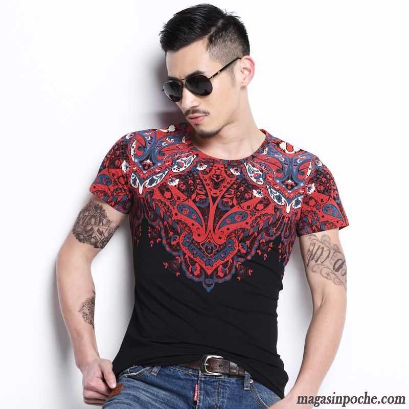 t shirt bordeaux homme homme chemise en bas manches longues mode style chinois tous les assortis. Black Bedroom Furniture Sets. Home Design Ideas
