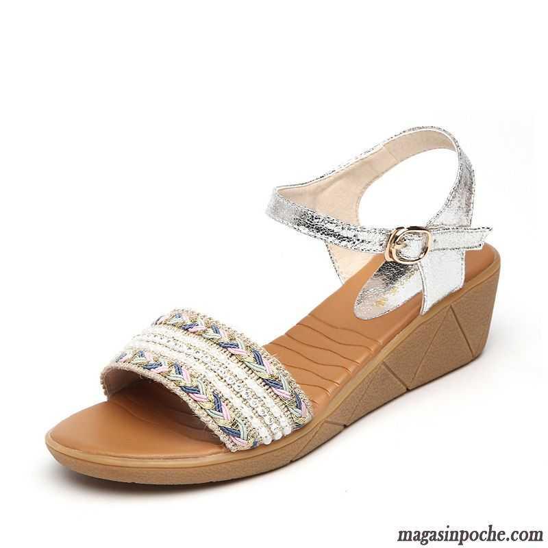sandales pour femme pas cher chaussures sur magasin. Black Bedroom Furniture Sets. Home Design Ideas