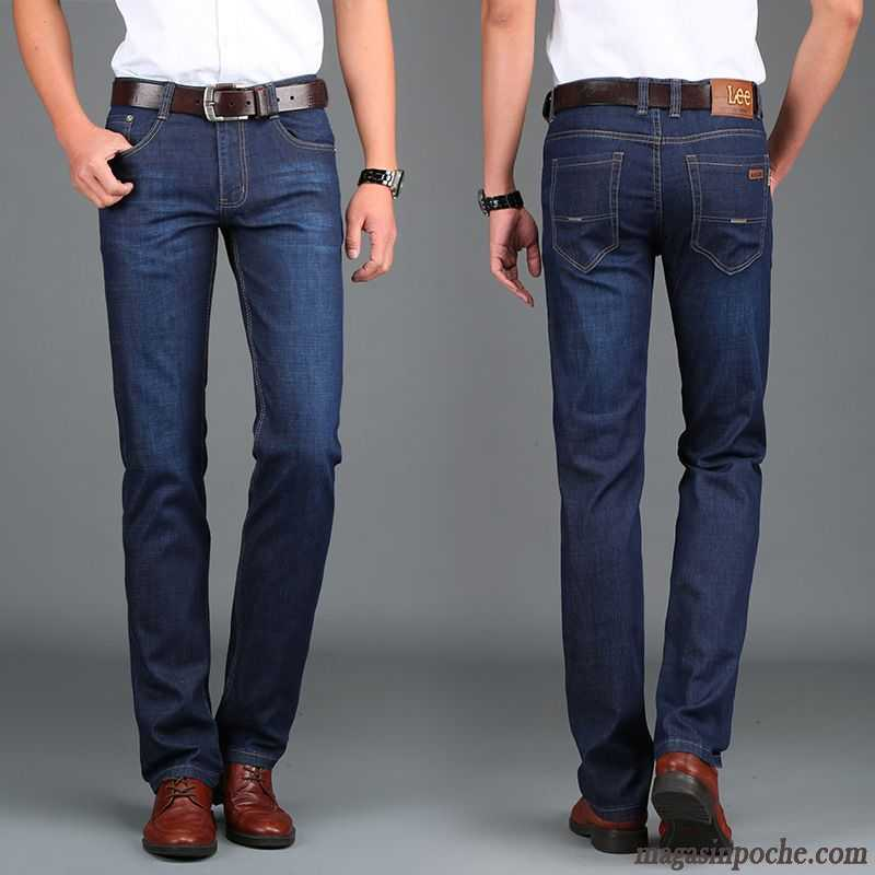 jupe en jeans homme pas cher coton bio extensible homme jeans pantalon marque jambe droite slim. Black Bedroom Furniture Sets. Home Design Ideas
