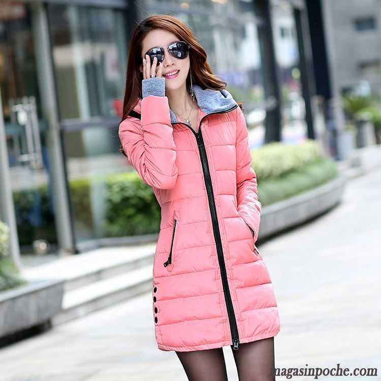 Veste coton capuche femme