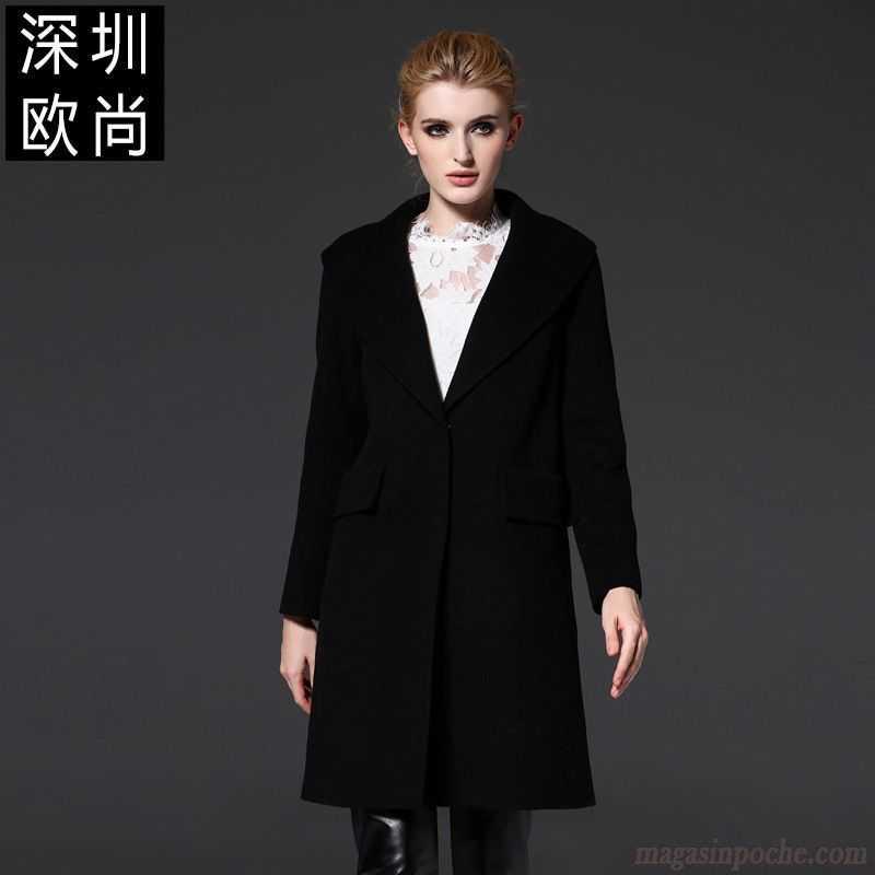 veste originale pour femme renforc de laine l 39 automne et l 39 hiver manteau ceinture femme col. Black Bedroom Furniture Sets. Home Design Ideas