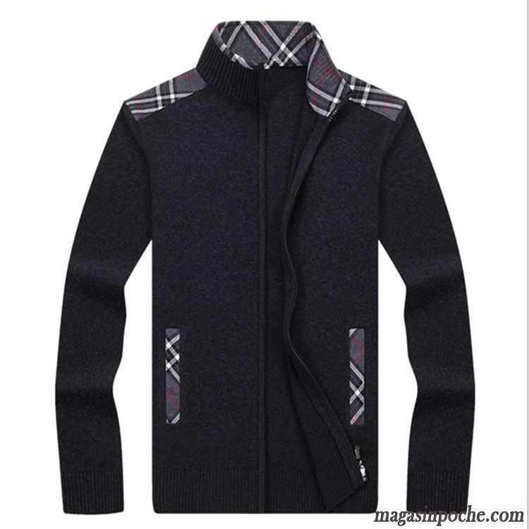 manteau classe homme tendance pardessus cardigan slim automne pull tricots en maille homme chameau. Black Bedroom Furniture Sets. Home Design Ideas