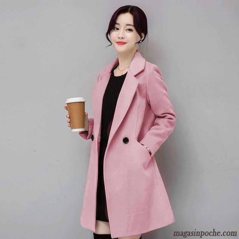 veste femme hiver renforc slim tendance longue manteau de. Black Bedroom Furniture Sets. Home Design Ideas