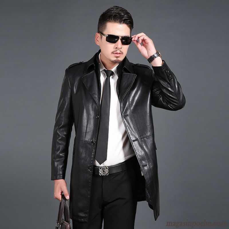 veste en cuir veritable homme pas cher les vestes la mode sont populaires partout dans le monde. Black Bedroom Furniture Sets. Home Design Ideas