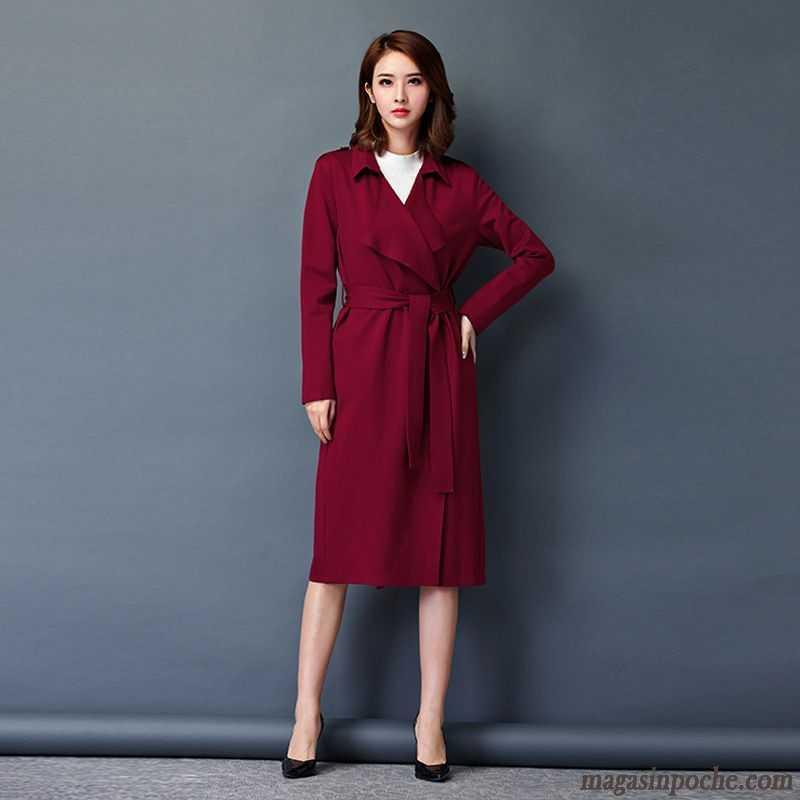 vestes courtes pour femmes longue pardessus femme coupe vent l 39 automne slim mince manteau. Black Bedroom Furniture Sets. Home Design Ideas