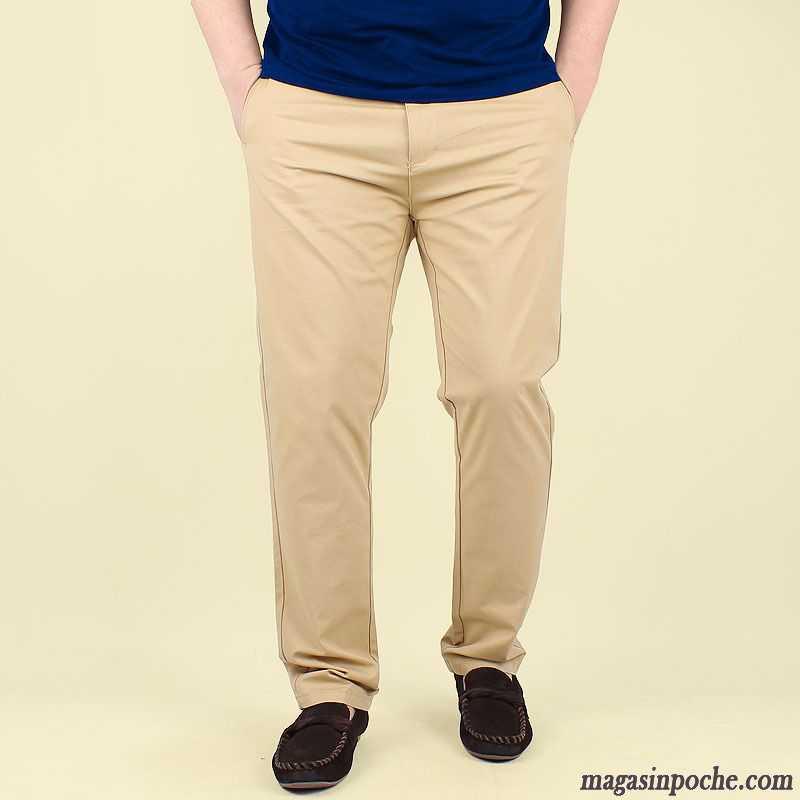 En Lin Pour Homme Gros Baggy Taillissime Pantalon Extensible